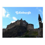 Castillo de Edimburgo Tarjeta Postal