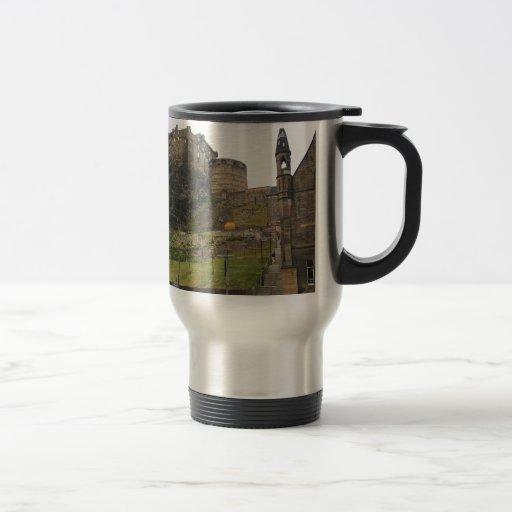 Castillo de Edimburgo Taza De Viaje De Acero Inoxidable