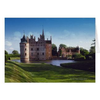 Castillo de Egeskov, Dinamarca Tarjeta De Felicitación