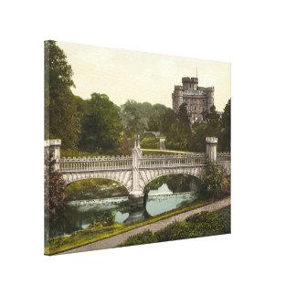 Castillo de Eglinton, Irvine, Ayrshire, Escocia Lienzo Envuelto Para Galerias