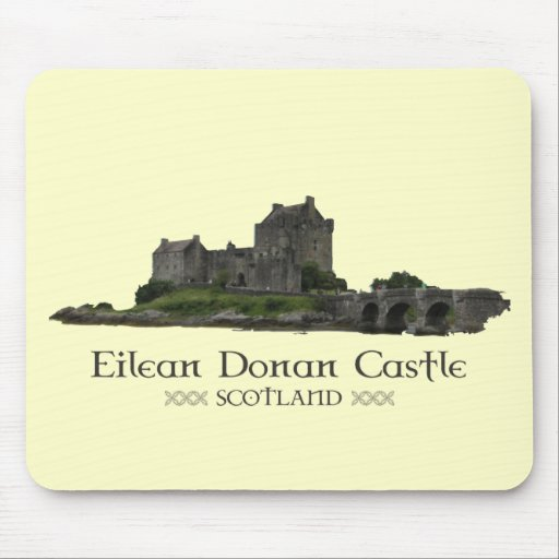 Castillo de Eilean Donan Alfombrilla De Ratón