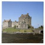 Castillo de Eilean Donan, Escocia. El Eilean famos Azulejo Cuadrado Grande
