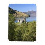Castillo de Eilean Donan, Escocia. El Eilean famos Iman Rectangular