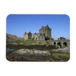 Castillo de Eilean Donan, Escocia. El Eilean famos Imanes Flexibles
