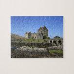 Castillo de Eilean Donan, Escocia. El Eilean famos Puzzle Con Fotos