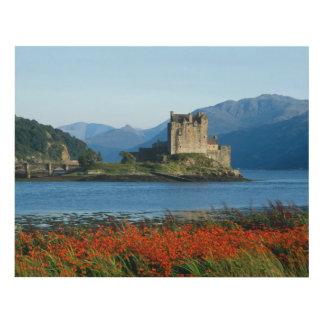 Castillo de Eilean Donan, montañas, Escocia 3 Cuadro