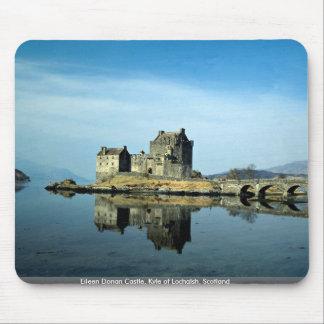 Castillo de Eileen Donan Kyle de Lochalsh Escoci Alfombrillas De Ratón