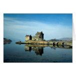 Castillo de Eileen Donan, Kyle de Lochalsh, Escoci Tarjetón