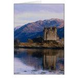 Castillo de Eileen Donan, lago Duich, Escocia Tarjetas