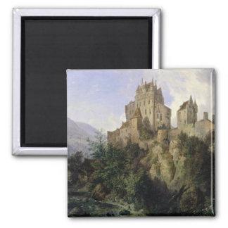 Castillo de Eltz Imán Cuadrado