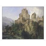 Castillo de Eltz Impresión En Madera