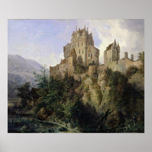 Castillo de Eltz Póster