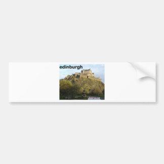 Castillo de Escocia Edimburgo (St.K) Pegatina Para Auto
