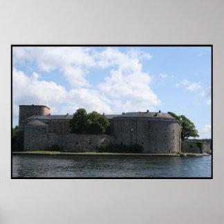 castillo de Estocolmo Póster
