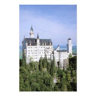 Castillo de Europa, Alemania, Neuschwanstein, cons Fotografia