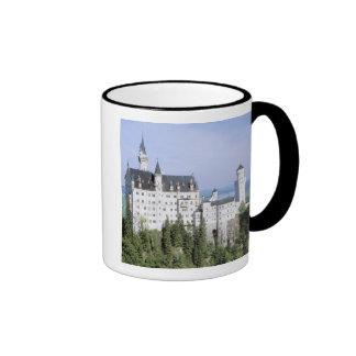 Castillo de Europa, Alemania, Neuschwanstein, cons Taza A Dos Colores