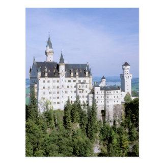 Castillo de Europa, Alemania, Neuschwanstein, Postal
