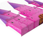 Castillo de Fairytail Impresión En Lienzo Estirada