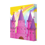 Castillo de Fairytail Impresiones En Lienzo Estiradas