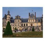 Castillo de Fontainebleau, Francia Postal
