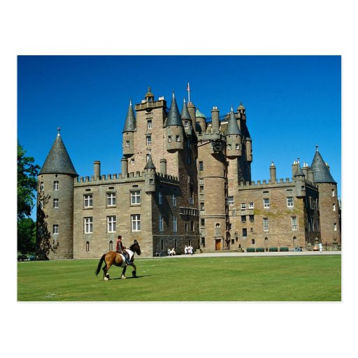 Castillo de Glamis, Escocia Tarjetas Postales