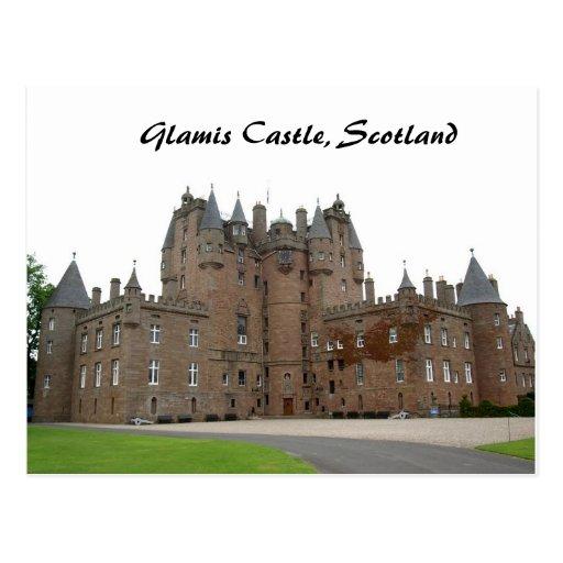 Castillo de Glamis Postal