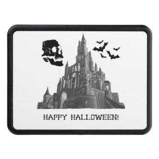 Castillo de Halloween con el cráneo y el palo Tapa De Tráiler