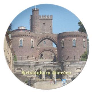 Castillo de Helsingborg - Suecia Plato De Comida