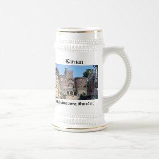 Castillo de Helsingborg - Suecia Jarra De Cerveza