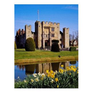 Castillo de Hever, flores de Kent Tarjetas Postales