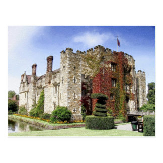 Castillo de Hever, Kent, Inglaterra Tarjetas Postales