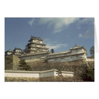 Castillo de Himeji, Kyoto, terminada 1609 Tarjeta De Felicitación