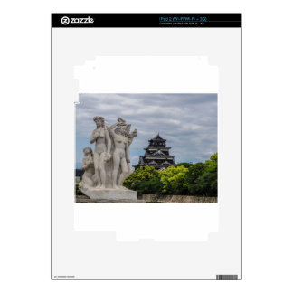 Castillo de Hiroshima iPad 2 Skin