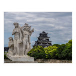 Castillo de Hiroshima Postal