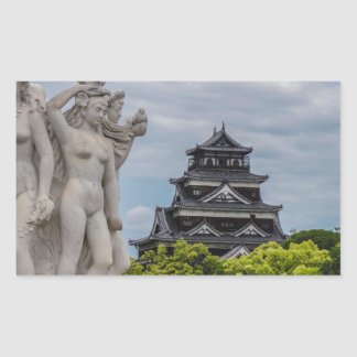 Castillo de Hiroshima Rectangular Altavoces