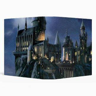 "Castillo de Hogwarts en la noche Carpeta 1 1/2"""