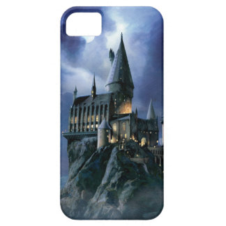 Castillo de Hogwarts en la noche iPhone 5 Carcasas