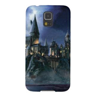 Castillo de Hogwarts en la noche Funda De Galaxy S5
