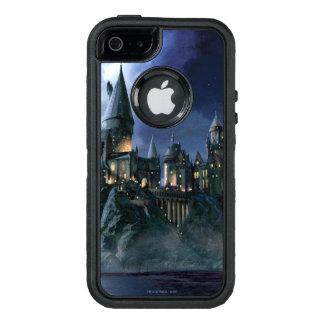 Castillo de Hogwarts en la noche Funda Otterbox Para iPhone 5/5s/SE