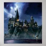 Castillo de Hogwarts en la noche Impresiones