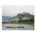 Castillo de Hohensalzburg, postal de Salzburg, Aus