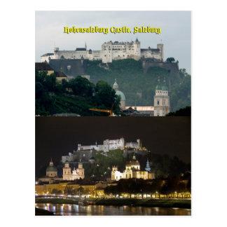 Castillo de Hohensalzburg, Salzburg, Austria Postales
