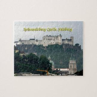 Castillo de Hohensalzburg, Salzburg, Austria Rompecabeza Con Fotos