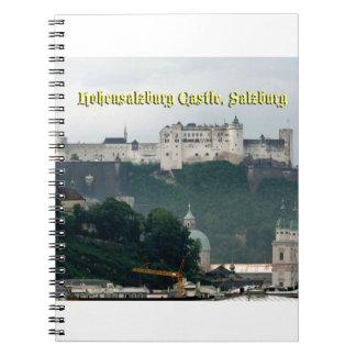 Castillo de Hohensalzburg, Salzburg, Austria Spiral Notebooks