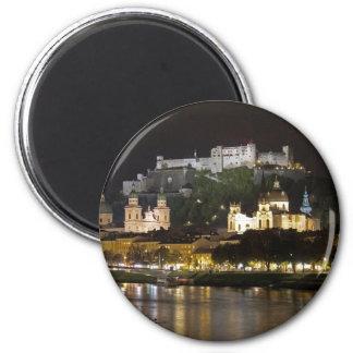Castillo de Hohensalzburg, Salzburg Imán Redondo 5 Cm