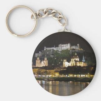 Castillo de Hohensalzburg, Salzburg Llavero Redondo Tipo Pin