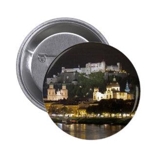 Castillo de Hohensalzburg, Salzburg Pin Redondo 5 Cm