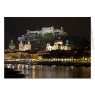 Castillo de Hohensalzburg, Salzburg Tarjeta De Felicitación