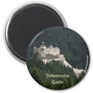 Castillo de Hohenwerfen Imán Redondo 5 Cm