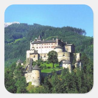 Castillo de Hohenwerfen Colcomanias Cuadradas